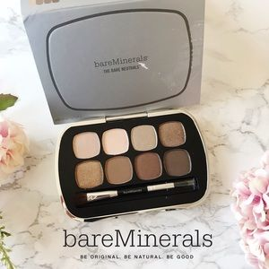 BareMinerals Neutrals Eyeshadow Palette Ready 8.0